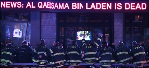New York Firefighters, Times Square, May 1st, 2011