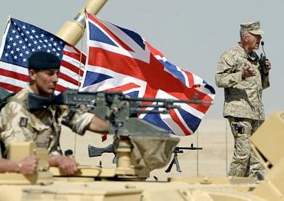 US and UK troops make preparations in Kuwait, 2003