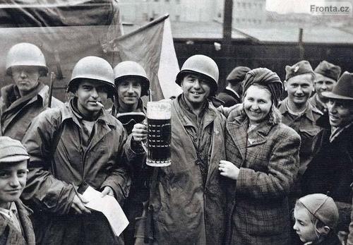 Plzen, 1945