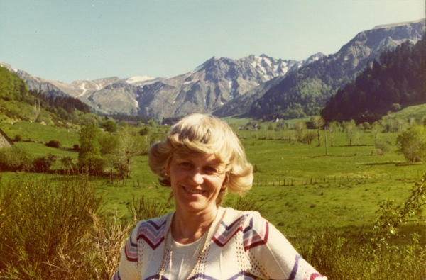 Mom in Auvergne